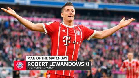 Robert Lewandowski: MD4's Man of the Matchday