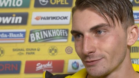"Watch: Philipp ""Always happy to score"""