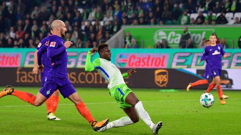 Watch: Wolfsburg 1-1 Bremen