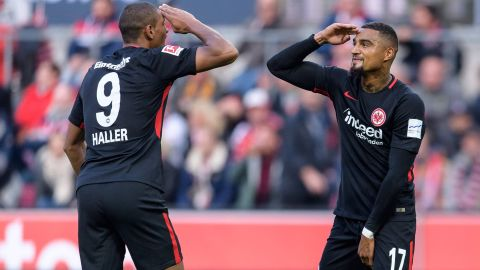 Haller strikes as Frankfurt down Cologne
