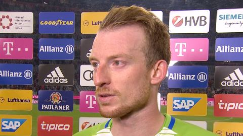 Watch: Arnold on Wolfsburg delight