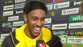"Watch: Aubameyang: ""The race is on!"""