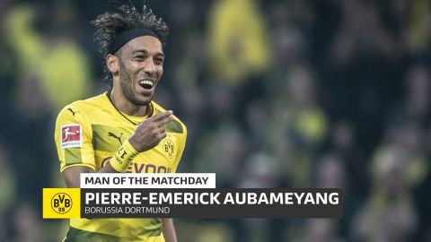 MD6 Man of the Matchday: Pierre-Emerick Aubameyang
