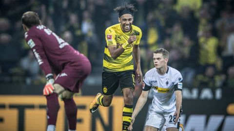 Watch: Aubameyang's hat-trick magic