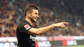 Watch: Lucas Alario loving life in Leverkusen