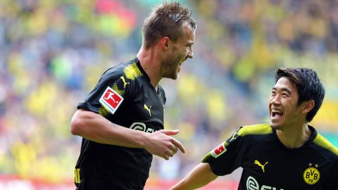Previous meeting: Augsburg 1-2 Dortmund