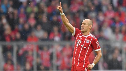 Arjen Robben: eight years of wonder