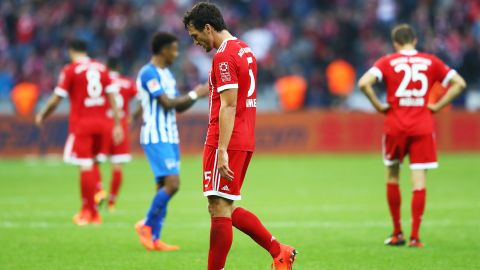 Watch: Hertha Berlin 2-2 Bayern Munich