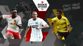 The Bundesliga Rookie Award nominees: September