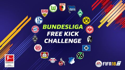 The #FIFA18 Bundesliga Free Kick Challenge