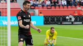 """Alario reminds me of Lewandowski"" - Sven Bender"