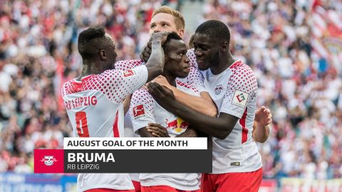 Watch: Bruma's August Goal of the Month Winner