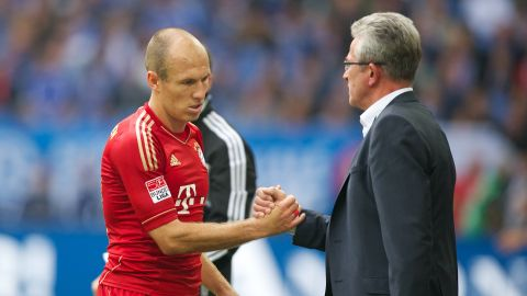 """Big role this season & next"" - Heynckes on Robben"