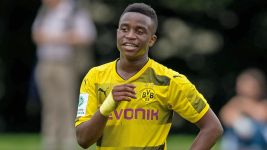 BVB's Moukoko, 12, nets another hat-trick