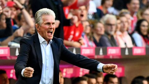 Heynckes celebrates winning return