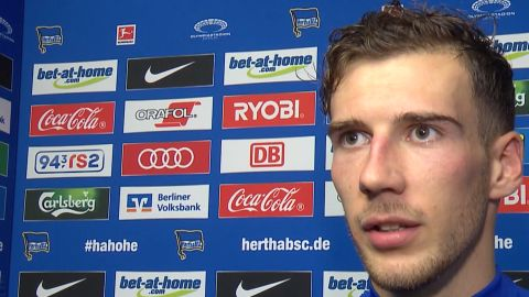 "Watch: Goretzka ""I've been practising penalties"""