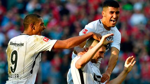 Watch: Hannover 1-2 Frankfurt