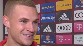 "Watch: Kimmich ""Always nice to score"""