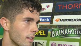 "Watch: Pulisic ""We couldn't finish our chances"""