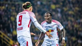 Leipzig come from behind to down Dortmund