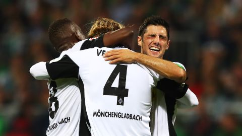 Gladbach the victors away at winless Bremen