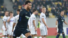 Hertha beaten late in Ukraine