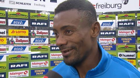 Watch: Kalou on his Freiburg penalty drama