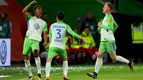 Wolfsburg snatch late draw against Hoffenheim
