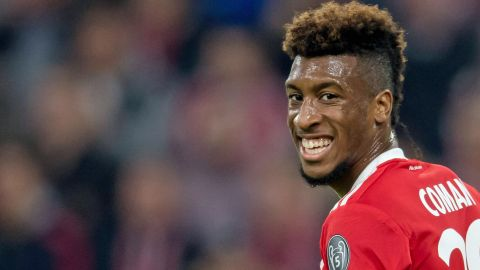Kingsley Coman loving life at Bayern