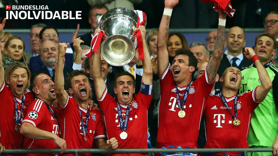 Bundesliga   INOLVIDABLE: Dortmund vs. Bayern, la primera final ...