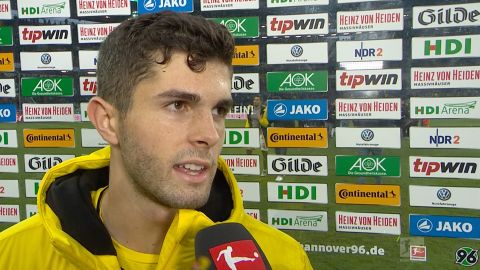 Watch: Pulisic and BVB down but not out