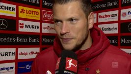 "Watch: Ginczek ""very happy"" to end drought"