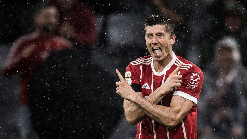 Bundesliga No Pain No Gain For Bayern S Inimitable Robert Lewandowski