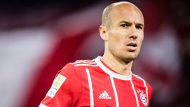 Evergreen Robben on a par with Ronaldo and Messi