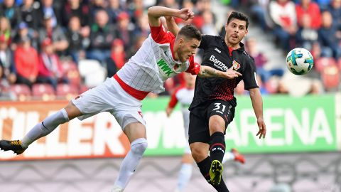 All square between Augsburg and Bayer