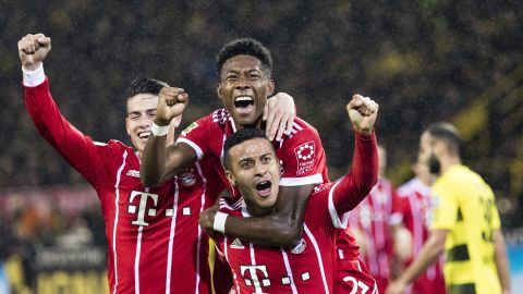 Bayern ease to Klassiker victory over Dortmund