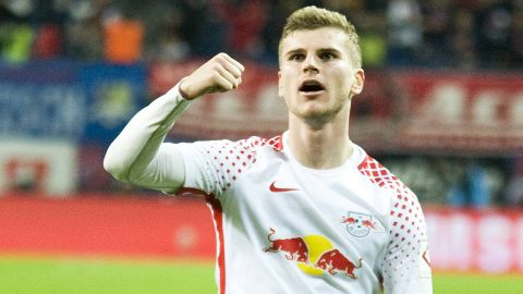 Leipzig's Werner rediscovers goalscoring touch
