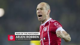 Arjen Robben: MD11's Man of the Matchday