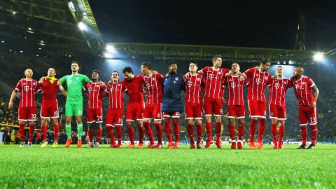 Bayern Munich in seventh heaven