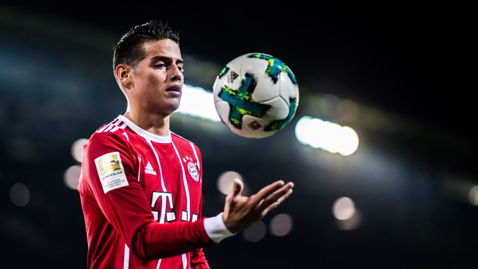 Bundesliga James Rodriguez A Memorable First Bundesliga Season In Numbers