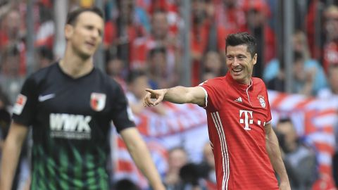 Robert Lewandowski: Augsburg's worst nightmare