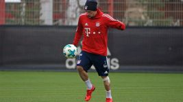 Franck Ribery back in team training