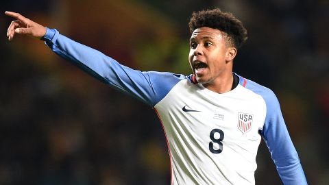 McKennie in USA squad