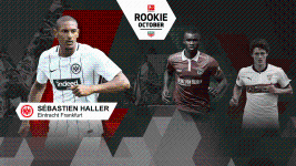 Haller named Rookie of the month