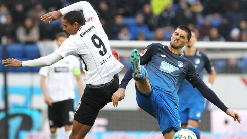 Drama as Hoffenheim hold Frankfurt