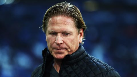 Hamburg part company with coach Markus Gisdol