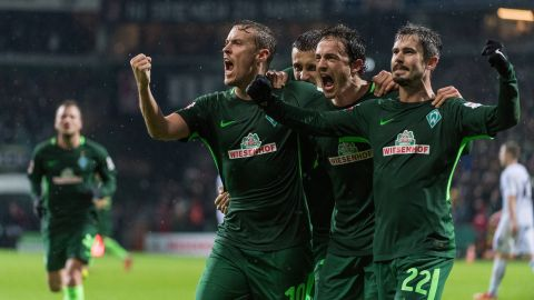 Kruse treble fires Werder to first win