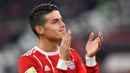 "James revels in ""healthy"" Bayern atmosphere"