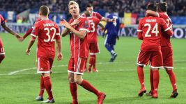 Bayern edge past Anderlecht in Champions League