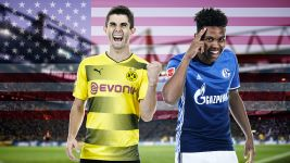 The star-spangled Revierderby